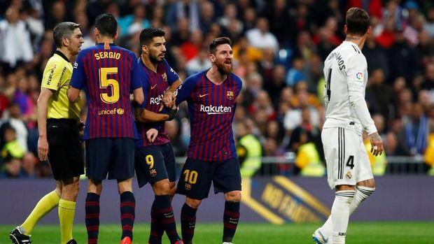 Hasil Liga Spanyol: Barca Tumbangkan Madrid di Bernabeu