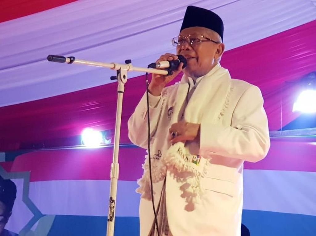 FBR Ungkap Kekecewaan ke Sandi, Maruf Amin: Betawi Pasti Dukung Jokowi