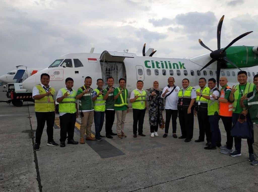 Citilink Buka Rute ke Bandung dan Lampung dari Bandara Halim