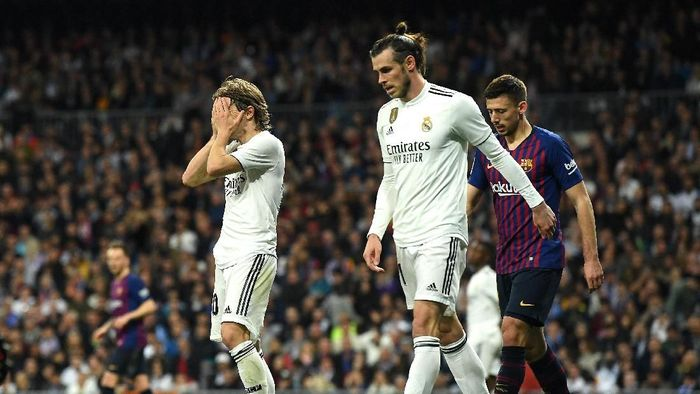 Real Madrid kalah 0-1 dari Barcelona. (Foto: David Ramos/Getty Images)