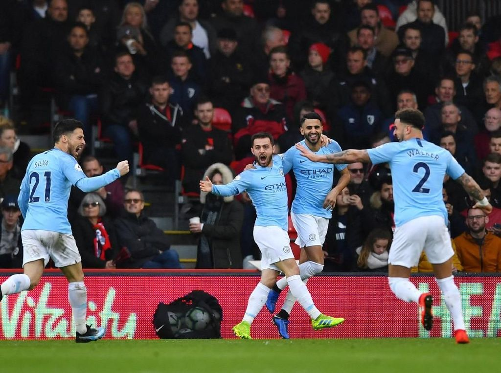 Susunan Pemain Brighton Vs Man City: The Citizens Ganti Satu Pemain
