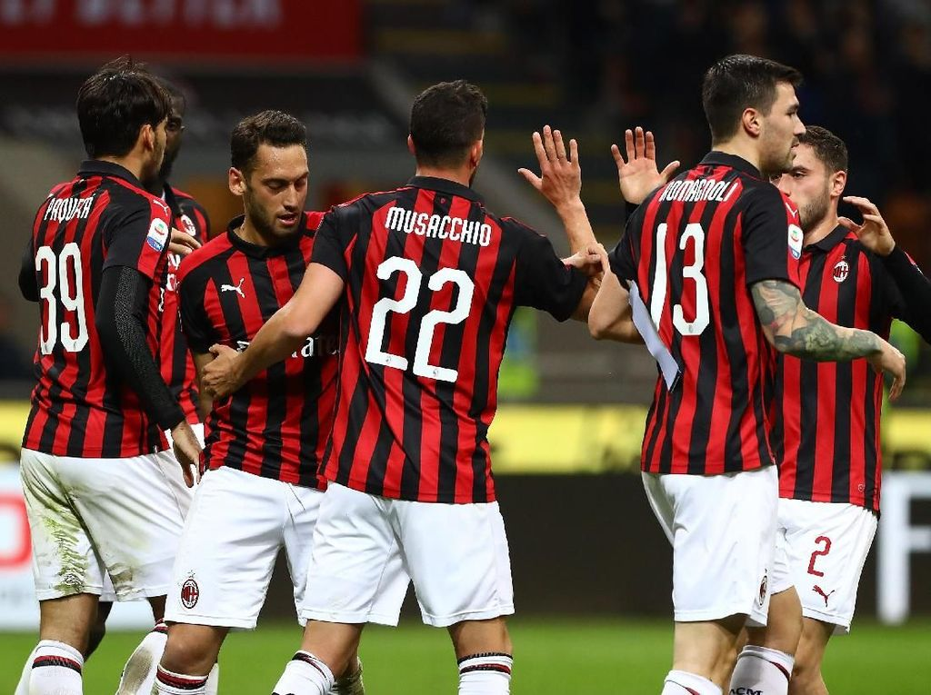 Milan Bertekad Lebarkan Jarak Sekaligus Beri Tamparan untuk Inter