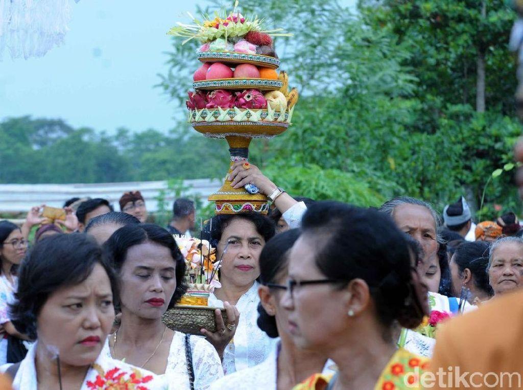 Jelang Nyepi, Umat Hindu di Boyolali Gelar Ritual Mendak Tirta