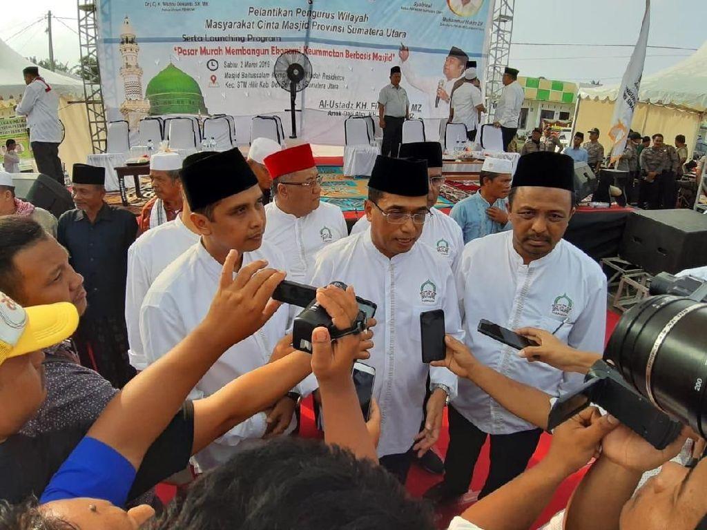 Pengukuhan Masyarakat Cinta Masjid di Sumut