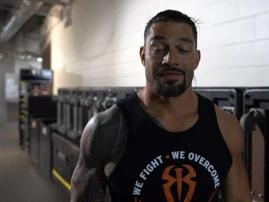 Leukemianya Membaik, Pegulat Roman Reigns Kembali ke WWE