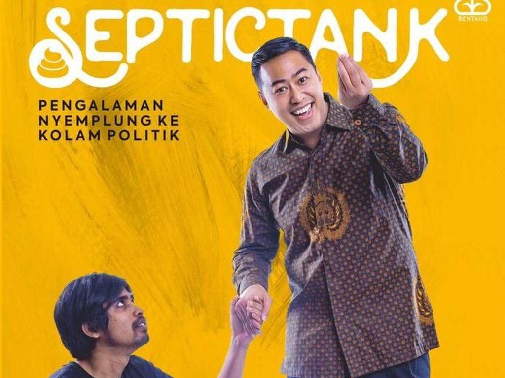 Buku Pandji Pragiwaksono Septictank Jadi Bacaan Segar Jelang Pilpres 2019