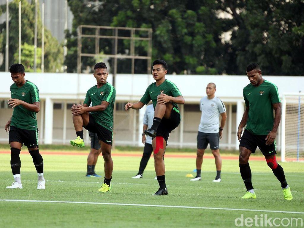 Pekan Perdana Latihan, Timnas U-22 Fokus ke Fisik