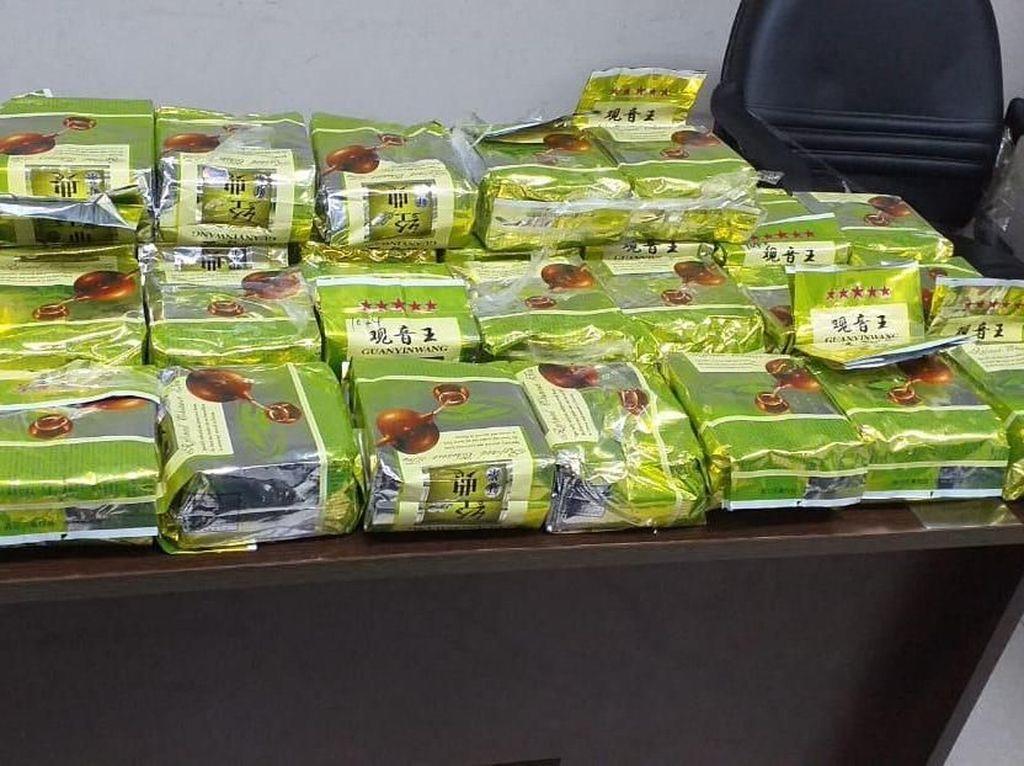 BNN Tangkap 4 Orang Terkait Sabu 30 Kg di Lubuk Pakam Sumut