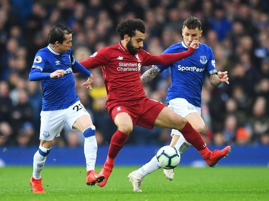 Diredam Everton, Liverpool Terlempar dari Puncak Klasemen