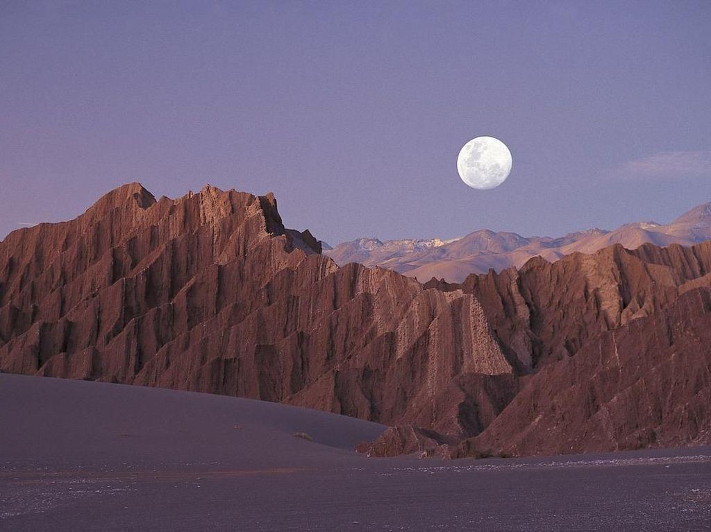 Foto: Replika Planet Mars di Bumi