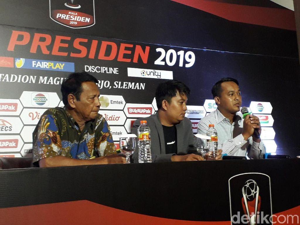 The Jakmania Dijatah 5 Ribu Tiket ke Piala Presiden di Sleman