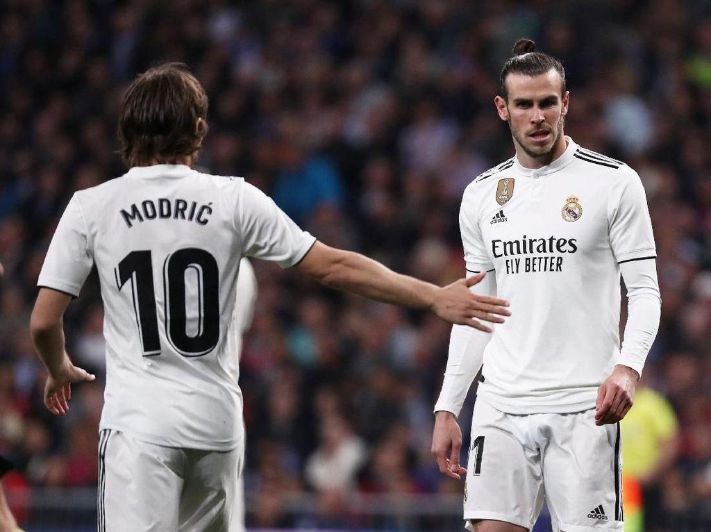 Bale Tinggalkan Bernabeu Lebih Cepat saat El Clasico