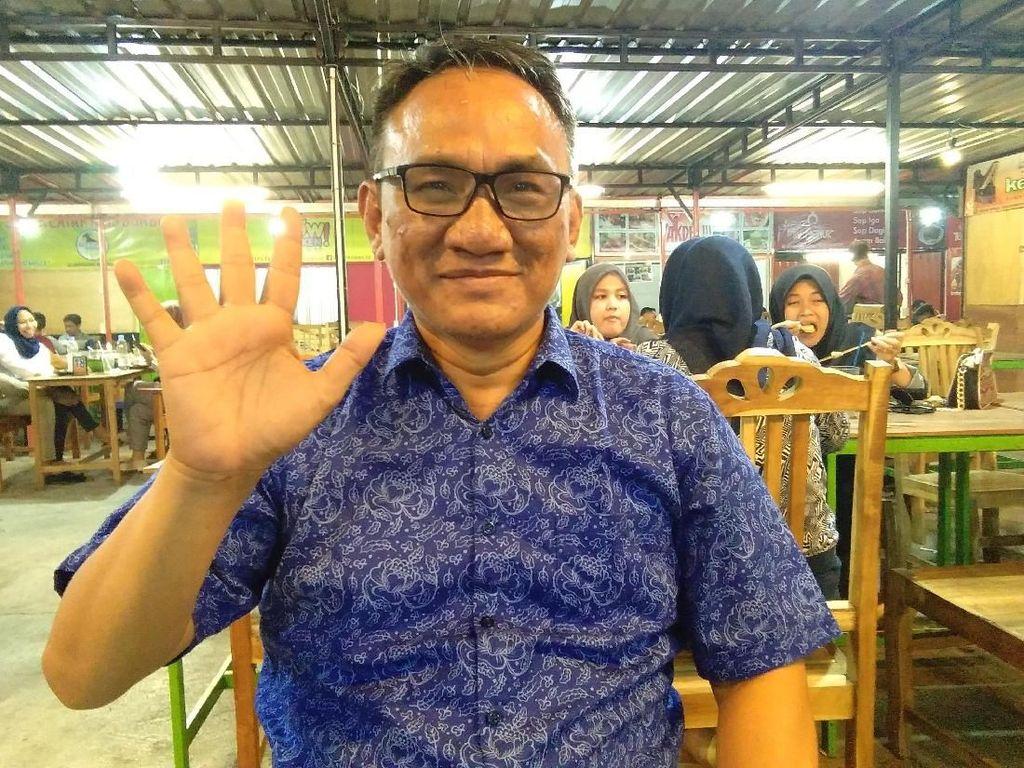 Andi Arief Diperbolehkan Pulang