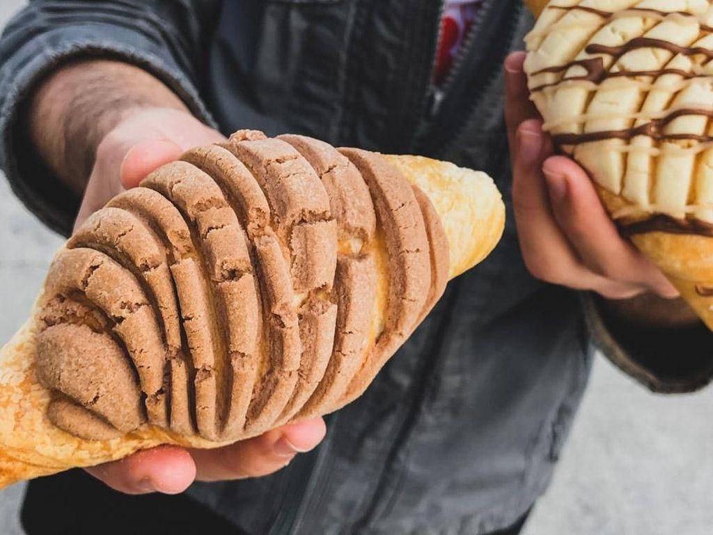 Uniknya Hybrid Pastry Croncha, Paduan Croissant dan Concha