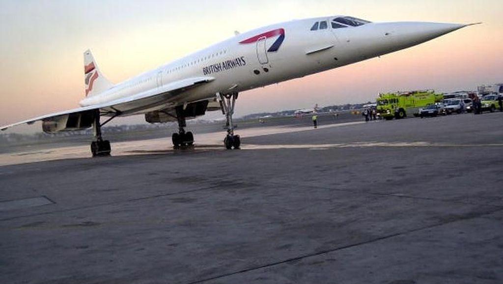 Nostalgia Concorde, Pesawat Unik dengan Kecepatan Supersonik