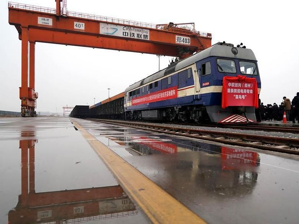 Wah! Kereta Barang China Melintas hingga Eropa