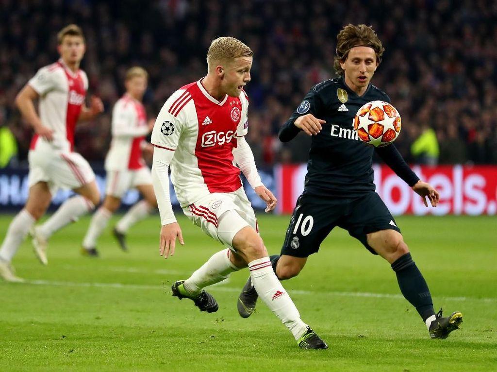Jadwal Siaran Langsung Liga Champions: Real Madrid vs Ajax Amsterdam