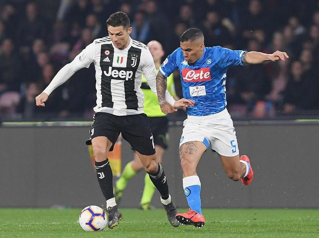 Saat Laga Napoli Vs Juventus Terhenti di Menit ke-13