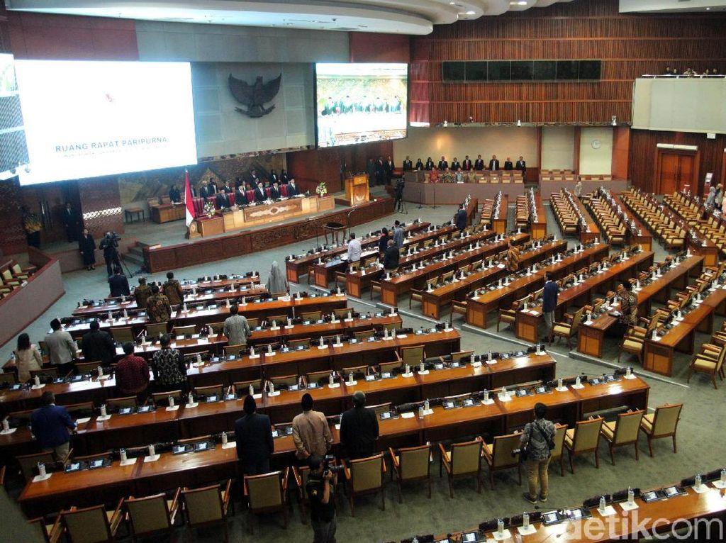 DPR Gelar Rapat Paripurna Penutupan Masa Sidang Hari Ini