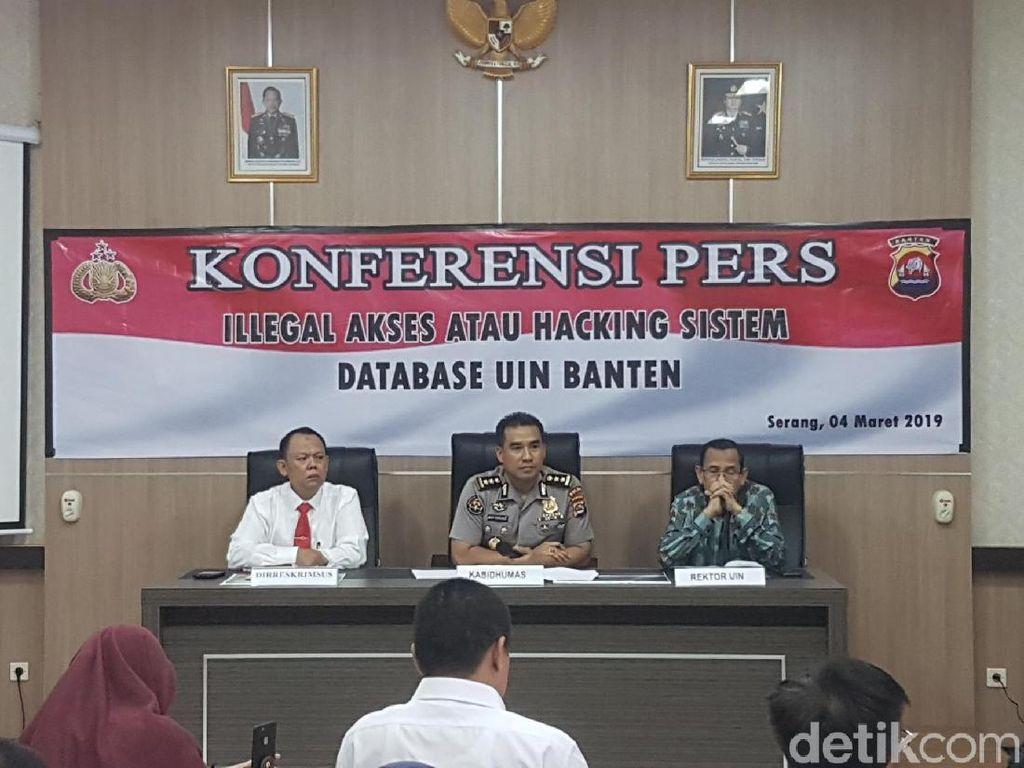 Dosen UIN Banten Ditangkap karena Retas Server Kampus
