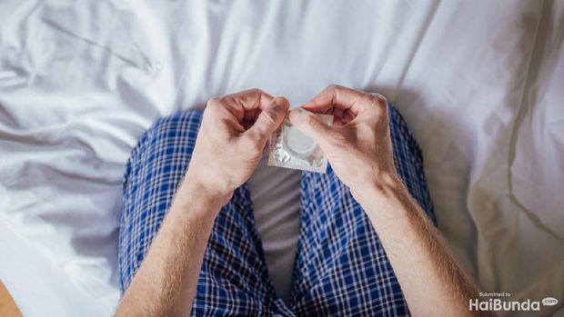 Ilustrasi kondom