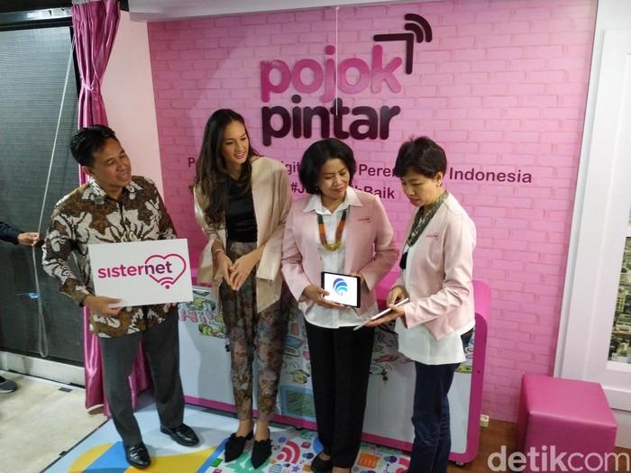 Edukasi Wanita Melek Digital, Kominfo Bikin Pojok Pintar