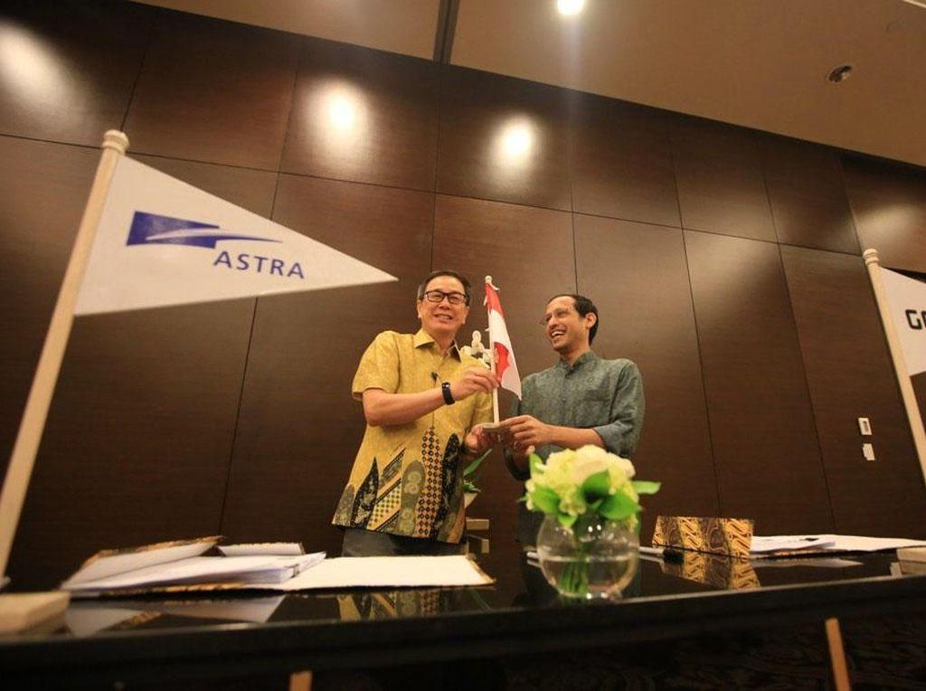 Astra Gandeng Go-Jek Bikin Perusahaan Patungan
