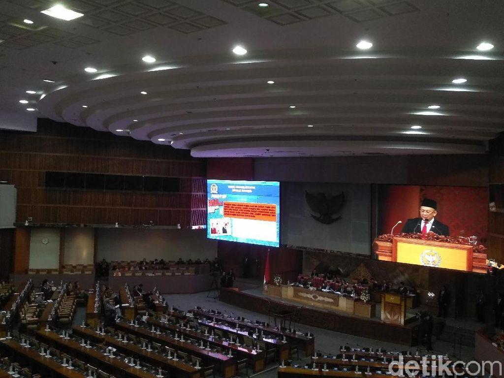 Bamsoet Ceritakan Alasan 279 Anggota DPR Absen di Paripurna Pembukaan