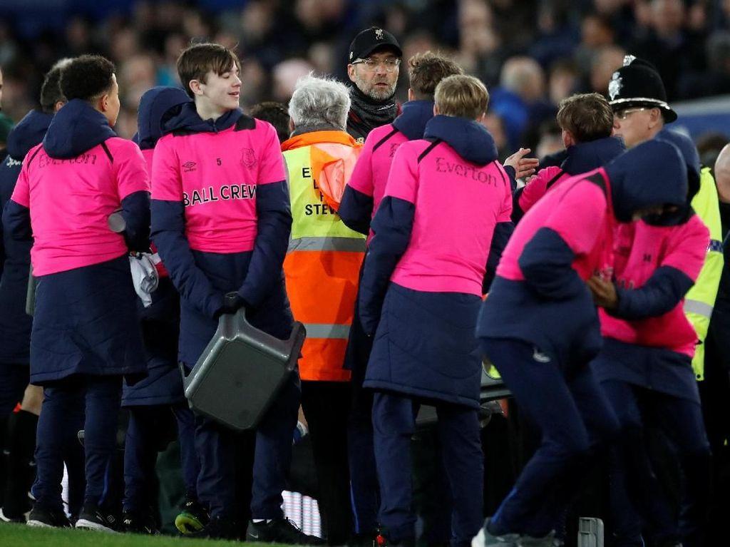 Ball Boy ke Klopp: Lawan Everton Saja Tidak Bisa Menang