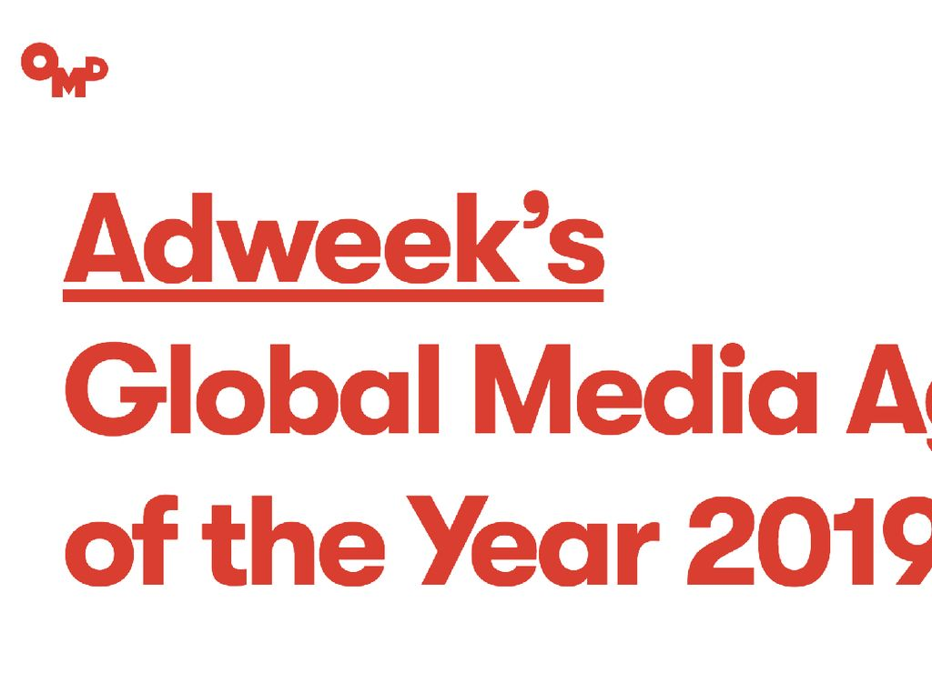 OMD Dinobatkan Sebagai Global Media Agency of The Year
