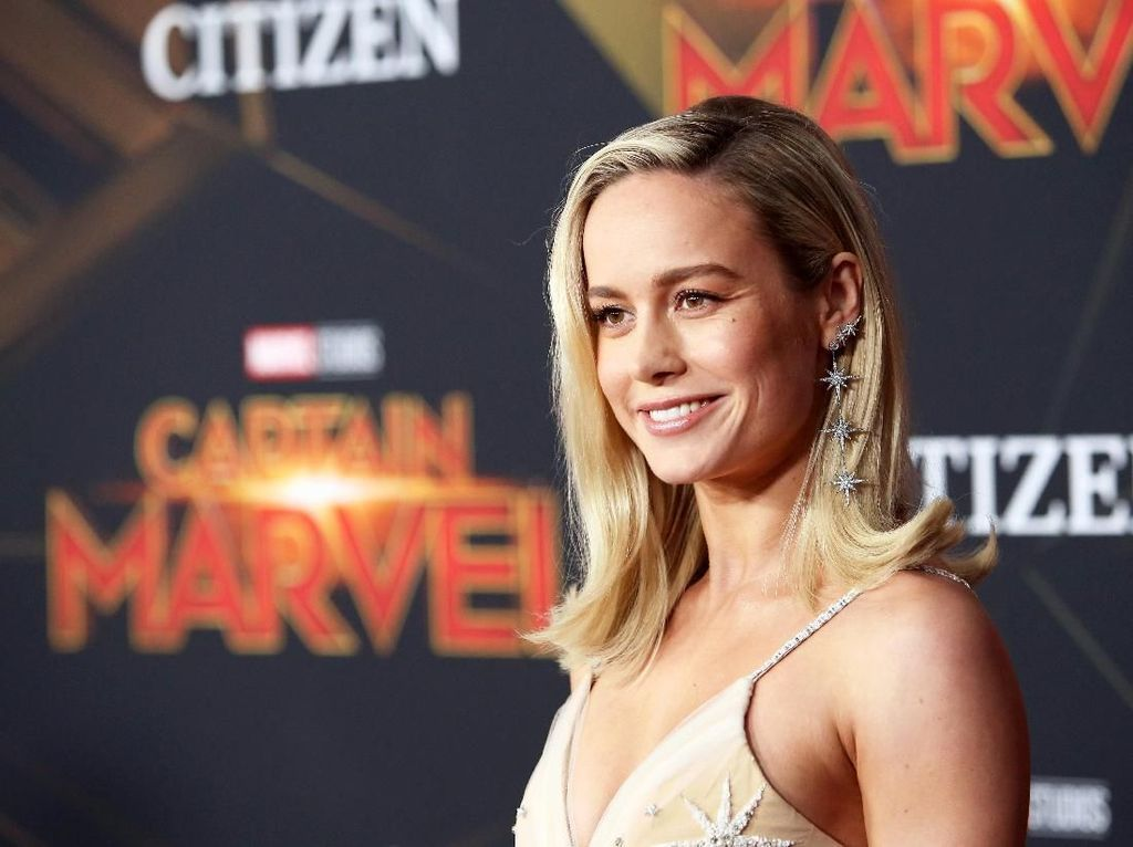 Gagal di Star Wars, Brie Larson Putar Haluan ke Captain Marvel
