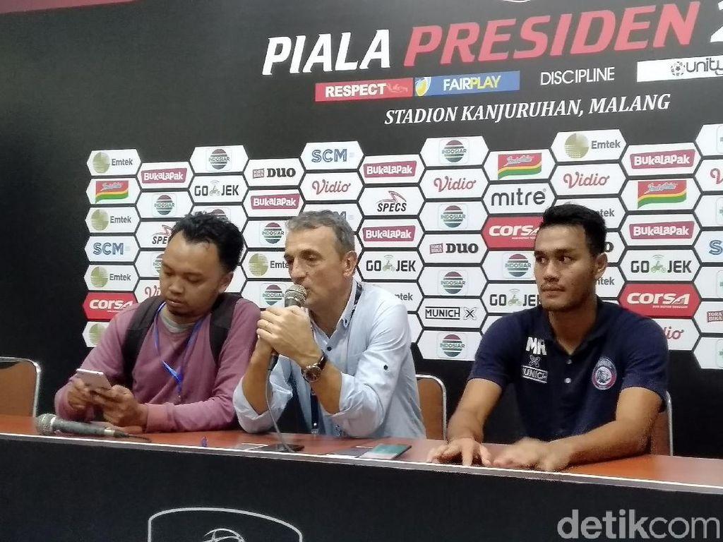 Reaksi Arema FC Top!