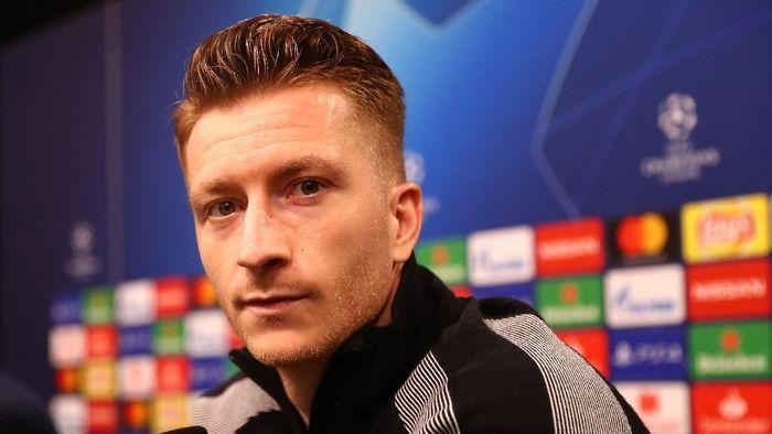 Bourssia Dortmund harus main dengan penuh keyakinan. (Foto: Maja Hitij/Getty Images)
