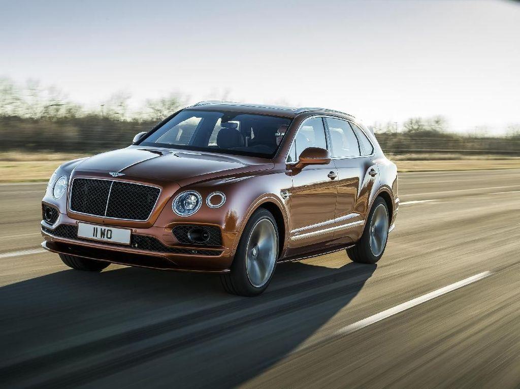 Keren! Mobil Mewah Bentley Pakai Audio Buatan Surabaya