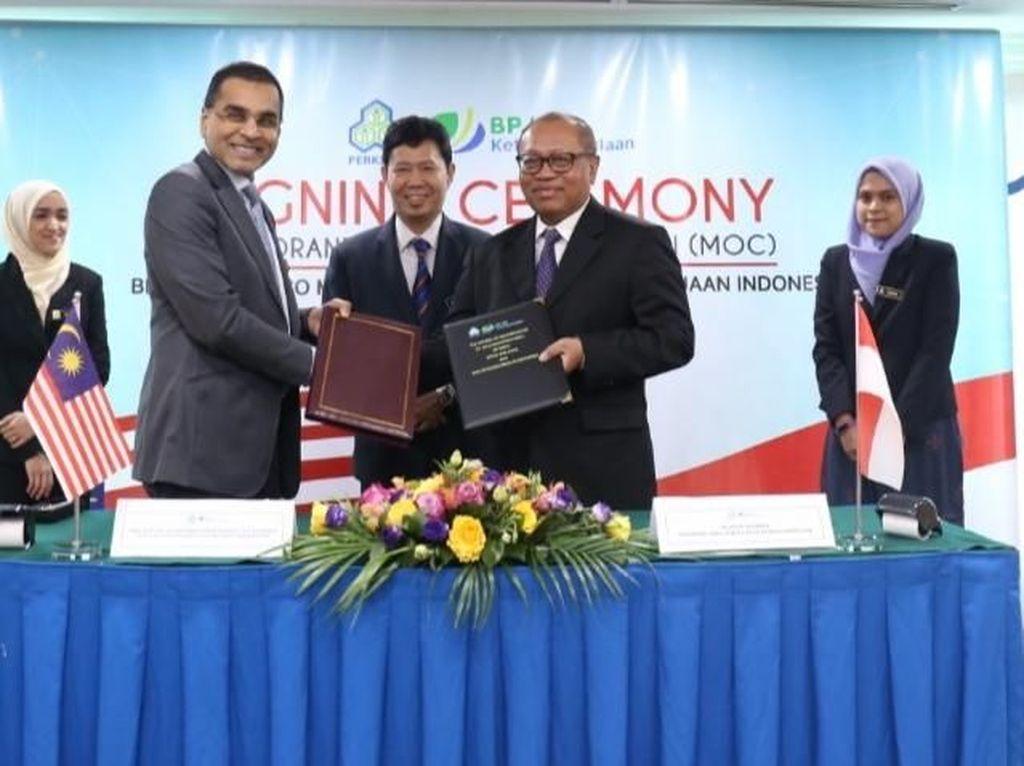 BPJS TK Gandeng SOCSO Lindungi Pekerja Migran RI di Malaysia