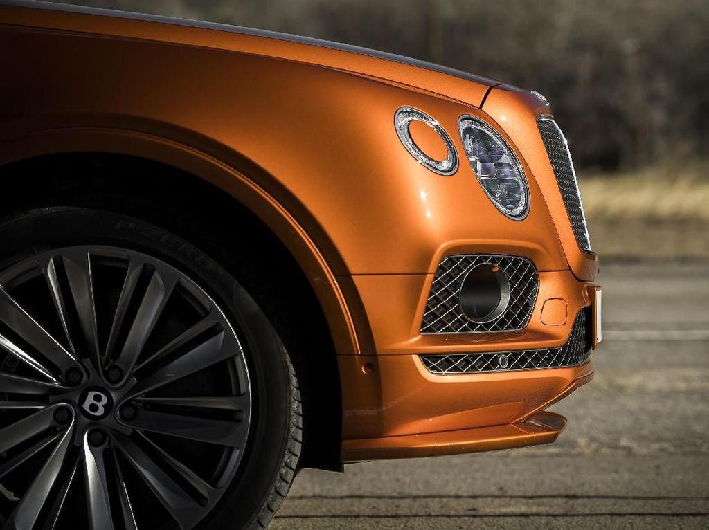Bentley Tepis Kelahiran Adik Bentayga