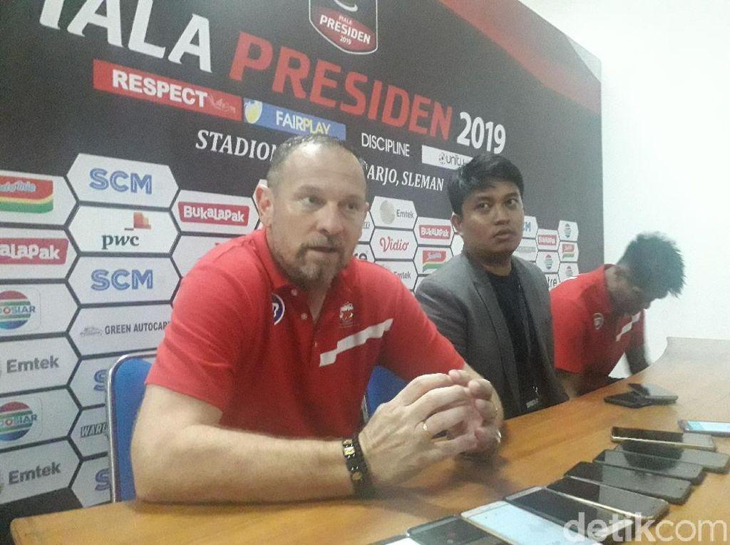 Madura United Punya PR Finishing Menuju Perempatfinal Piala Presiden