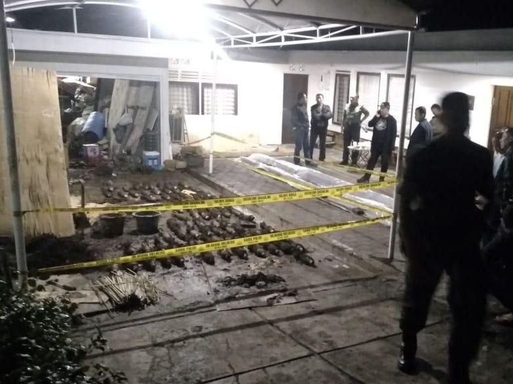 87 Mortir di Dago Bandung Diduga Peninggalan Perang Dunia II