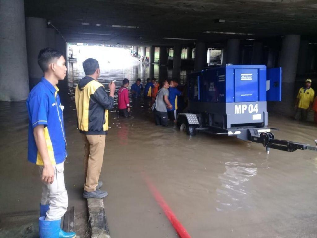 Kelapa Gading Sempat Terendam Banjir, Pompa Disiagakan di 4 Titik