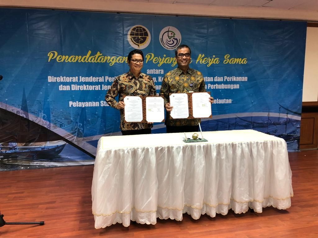 Kemenhub dan KKP Kerja Sama Sertifikasi Kepelautan untuk Nelayan