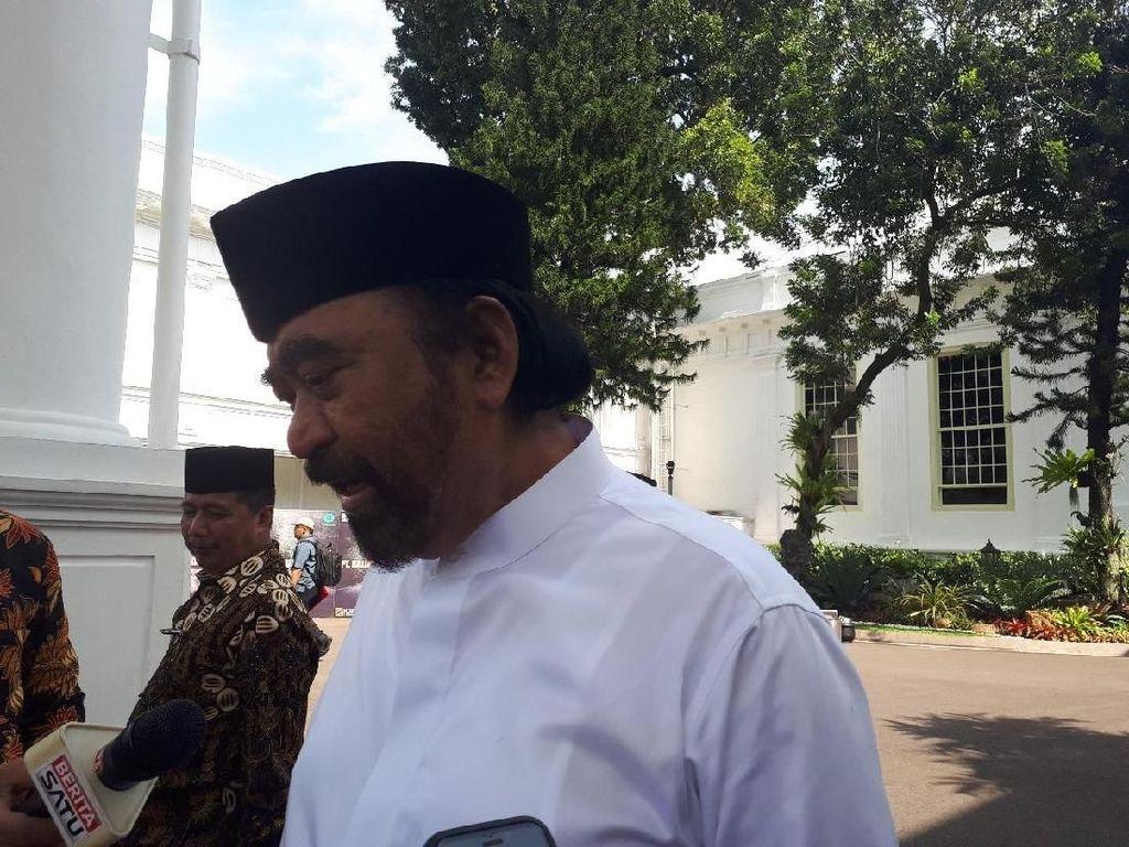 Surya Paloh Pimpin Ulama Aceh Temui Jokowi di Istana Negara