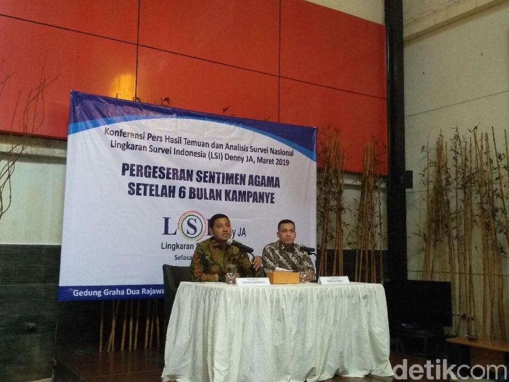 LSI Prediksi Kasus Andi Arief Lebih Pengaruh ke PD Dibanding ke Prabowo