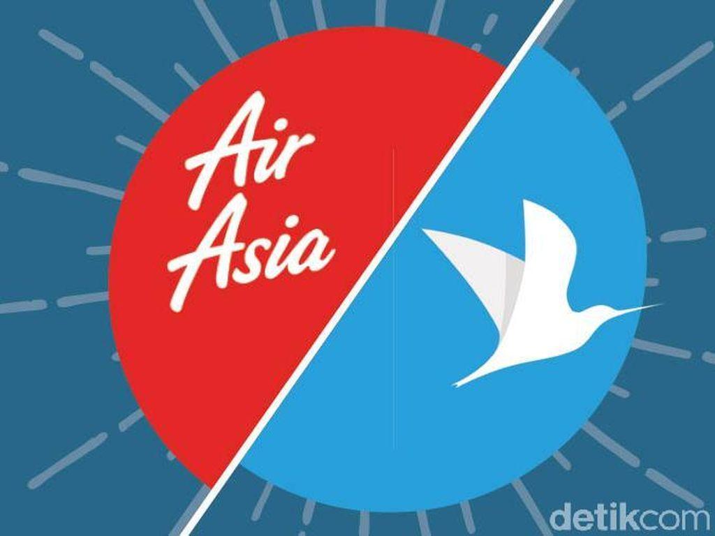 Sebab Musabab AirAsia-Traveloka Cerai