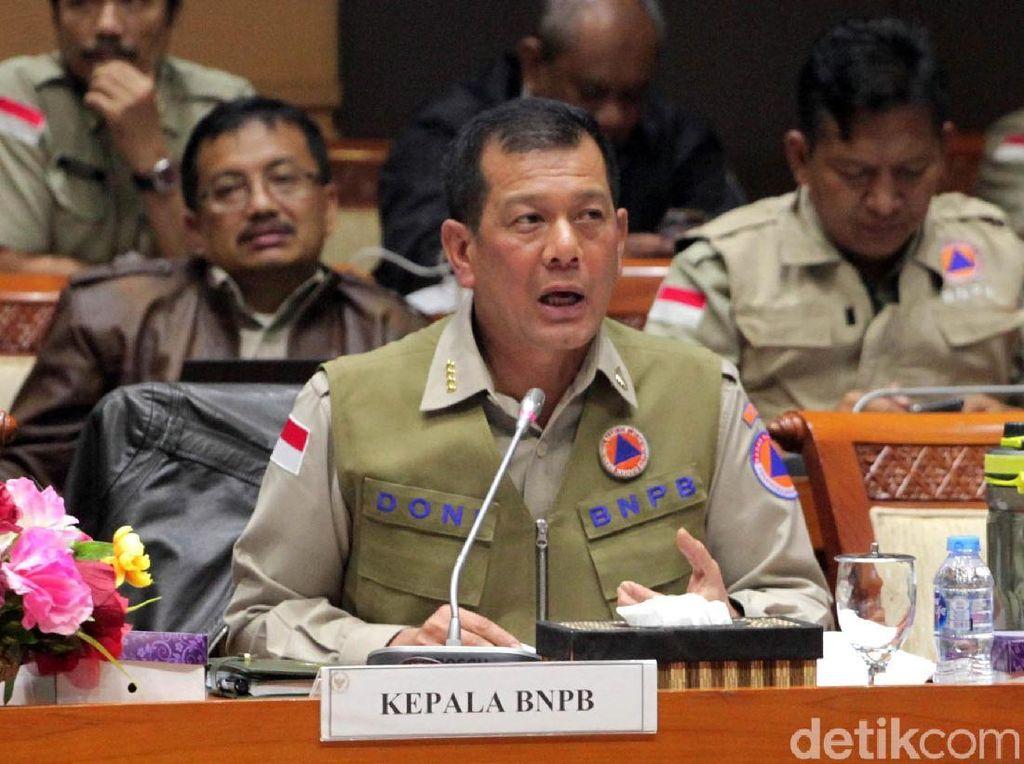 Kepala BNPB Minta Ada Penguatan Struktural BPBD di UU Penanggulangan Bencana