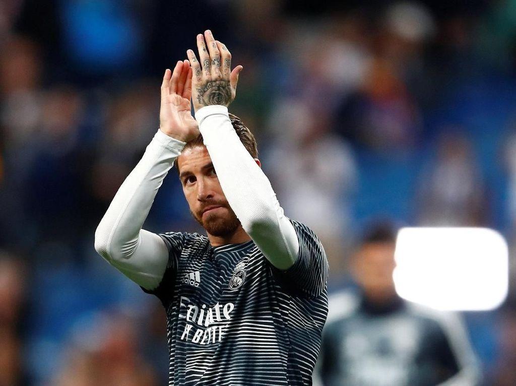 Ribut-ribut dengan Marcelo dan Perez, Ini Kata Sergio Ramos