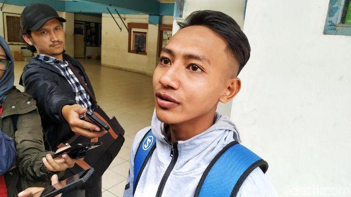 Beckham Putra Nugraha mengaku sudah disodori kontrak 3 tahun oleh Persib Bandung. (Foto: Mukhlis Dinillah/detikcom)