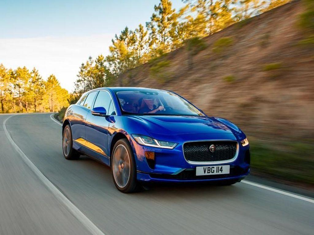 Jaguar I-Pace jadi Mobil Terbaik Eropa 2019