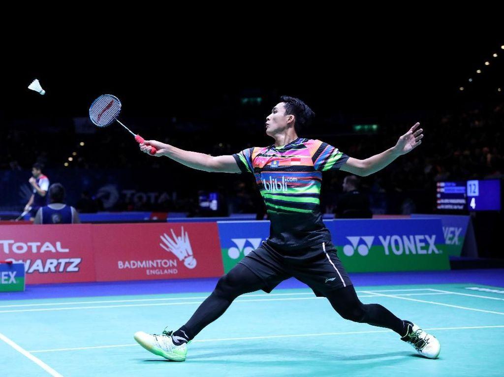Jadwal Tim Putra RI di Perempatfinal Kejuaraan Bulutangkis Beregu Asia