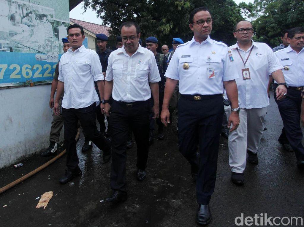 Perumda Pasar Jaya Cari Penampungan Sementara bagi Pedagang TPS Blok A