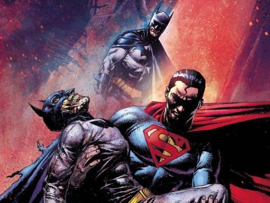 DC Comics Tak Berkutik Lawan Superman Buatan Indonesia